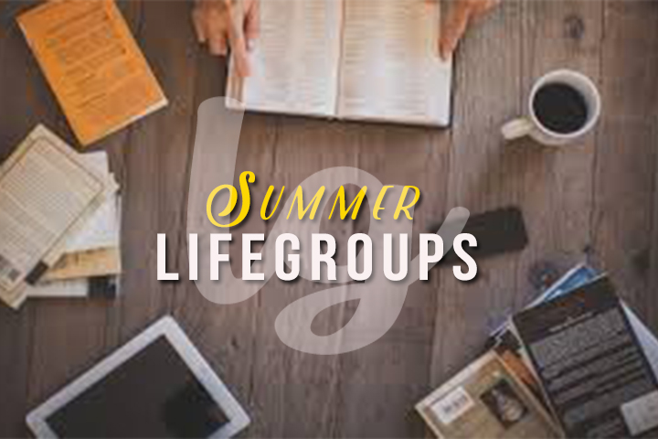 SUMMER LIFEGROUPS 2015